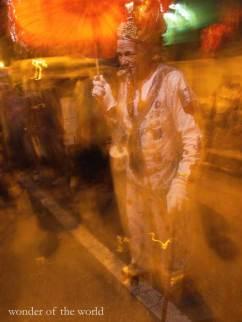 Gilbert Defreitas, a.k.a. Popeye on roller skates